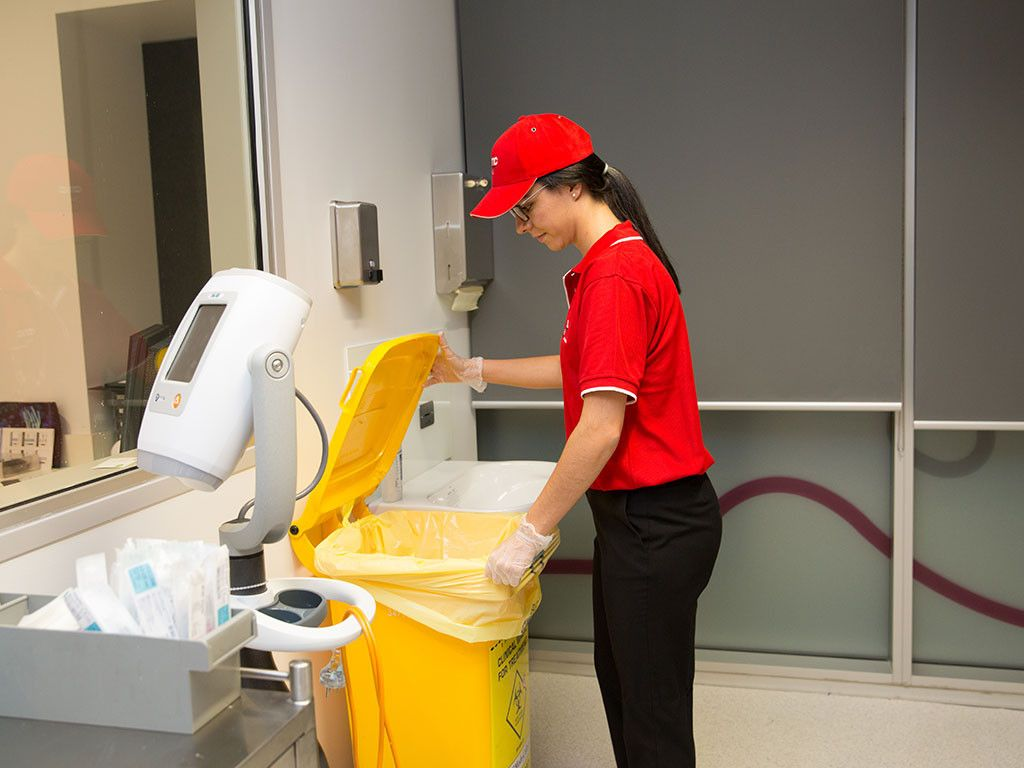 Cleaning services in Abu Dhabi for Hospitals
