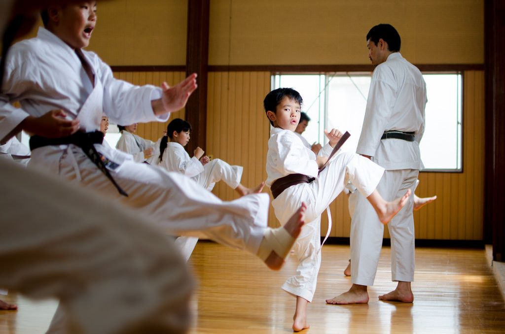 karate classes in dubai