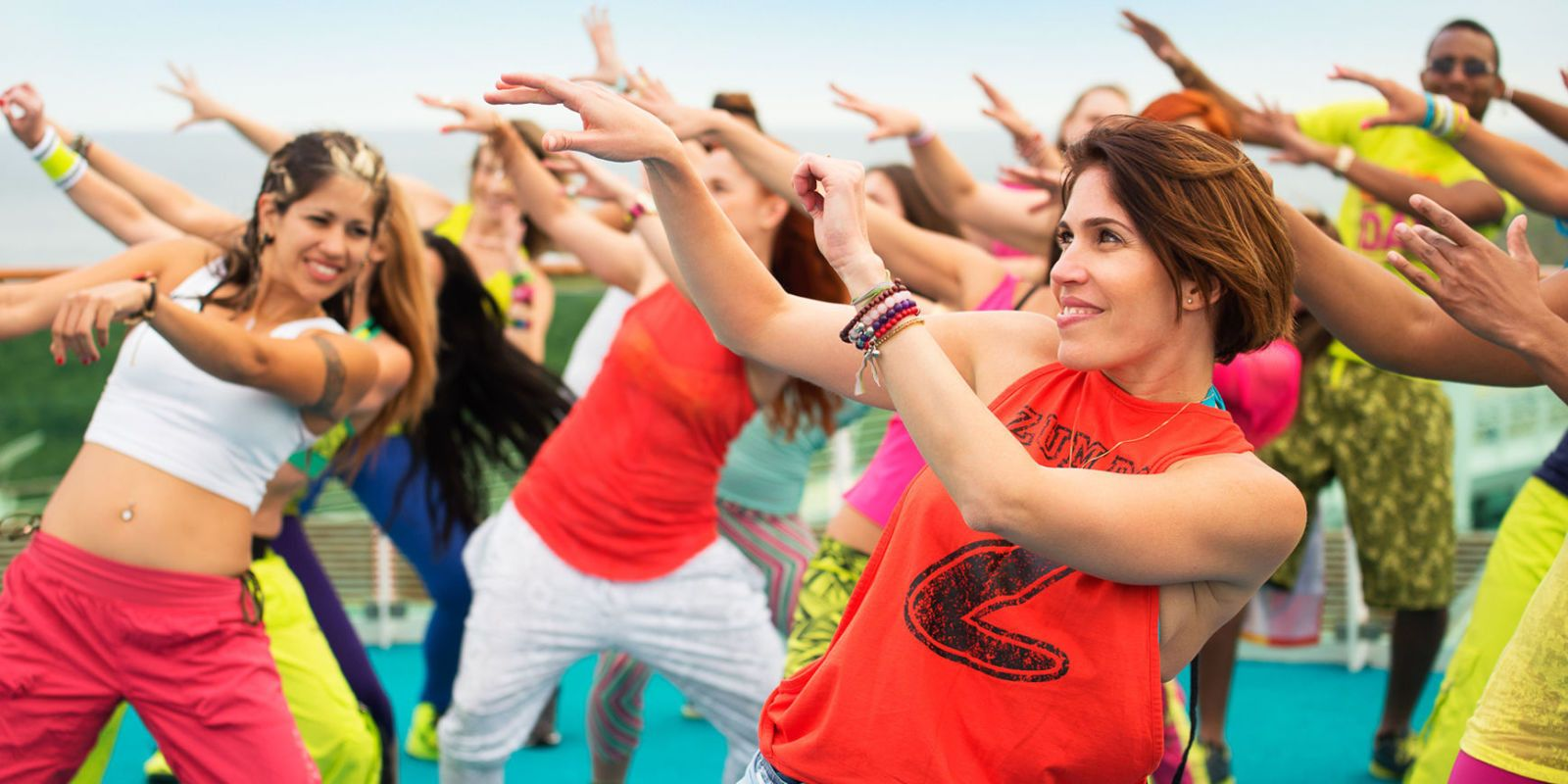 Zumba Fitness Classes for women in Abu Dhabi