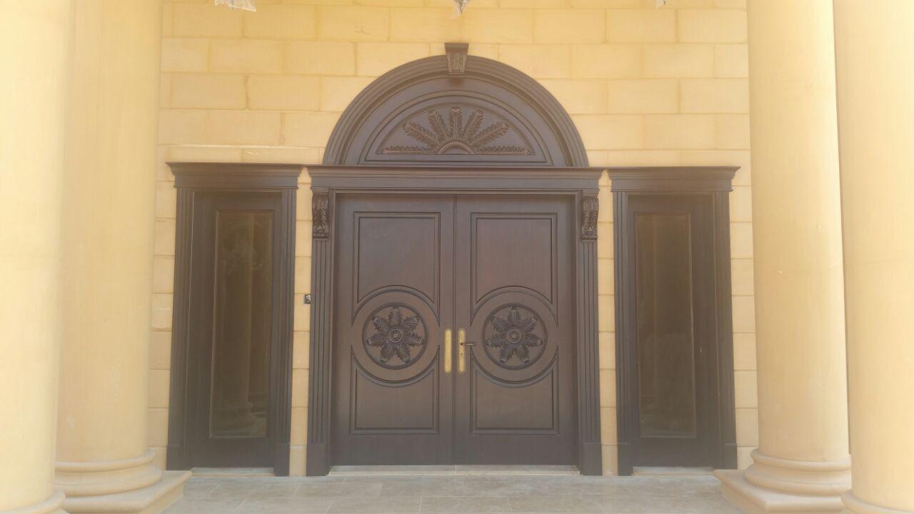 Wooden Entrance Doors- Pure Italian