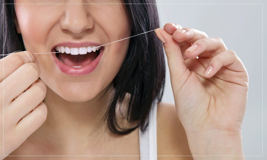 Dental Flossing Technique