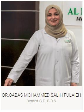 Dr. Qabas Mohammed Salih Fulaieh- General Dentist- Dubai