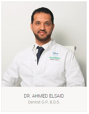 Dr. Ahmed Elsaid- General Dentist- Dubai