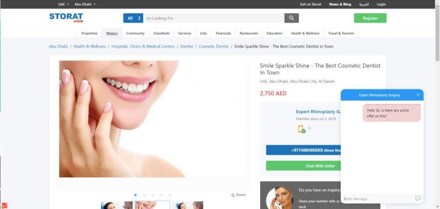 Online Chat and Messenger- Storat | Online Marketplace in UAE