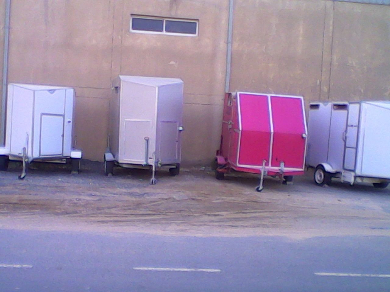 Campers portable toilets rent and sale Dubai