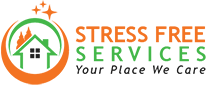 STRESS FREE CLEANING SERVICES logo