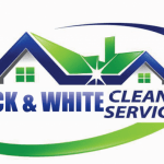 Black And White Cleaning Services logo