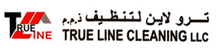 TRUE LINE CLEANING  logo