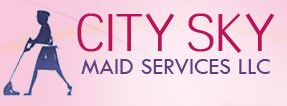 City Sky Maid Services  logo