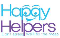 HAPPY HELPERS CLEANING SERVICES logo