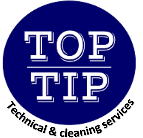 TOP TIP TECHNICAL AND CLEANING SERVICES  logo