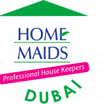 HOME MAIDS BUILDING CLEANING SERVICES logo