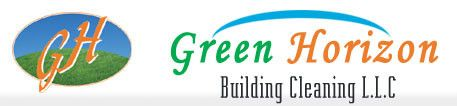 GREEN HORIZON BUILDING CLEANING  logo