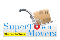 Super Town Movers logo