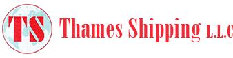 THAMES SHIPPING  logo