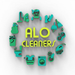 ALO Cleaners Cleaning Services logo