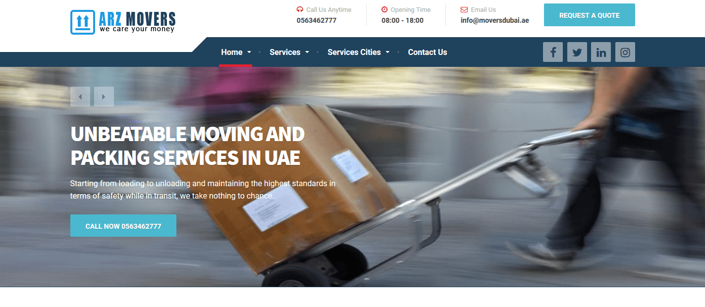 Arz Movers Cargo Packaging  L.L.c 0