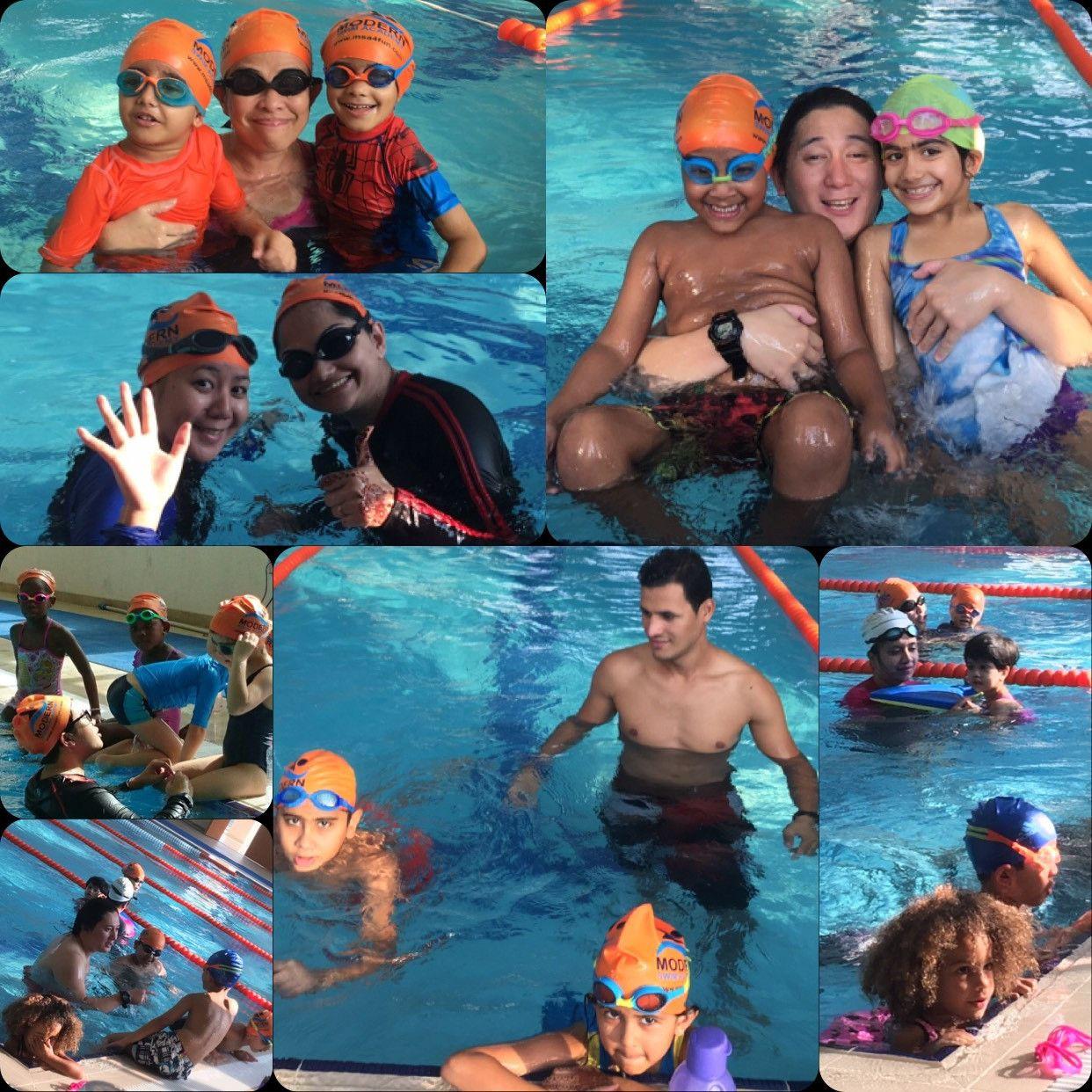أكاديمية مودرن لتعليم السباحة