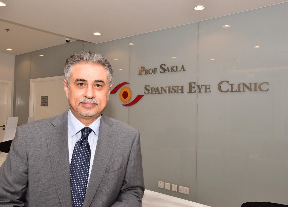 Prof. Sakla Spanish Eye Clinic 2