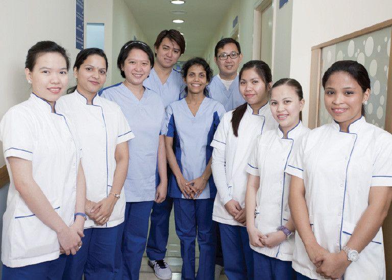 مركز جي تي اس الطبي 1