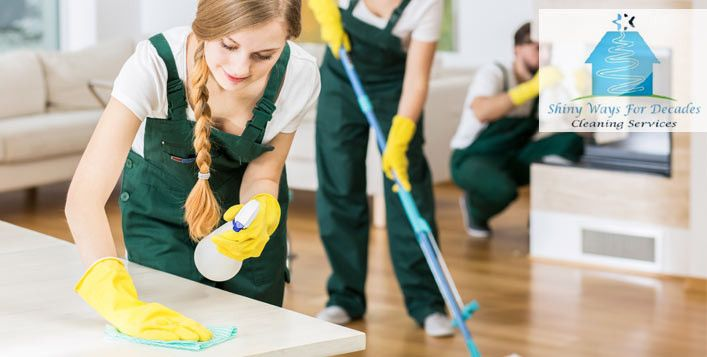 Shiny Ways For Decades Cleaning Services 1