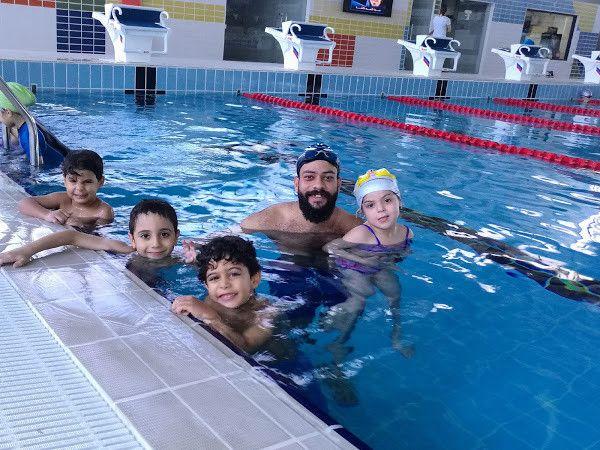 أكايمية كليوباترا لتعليم السباحة 2
