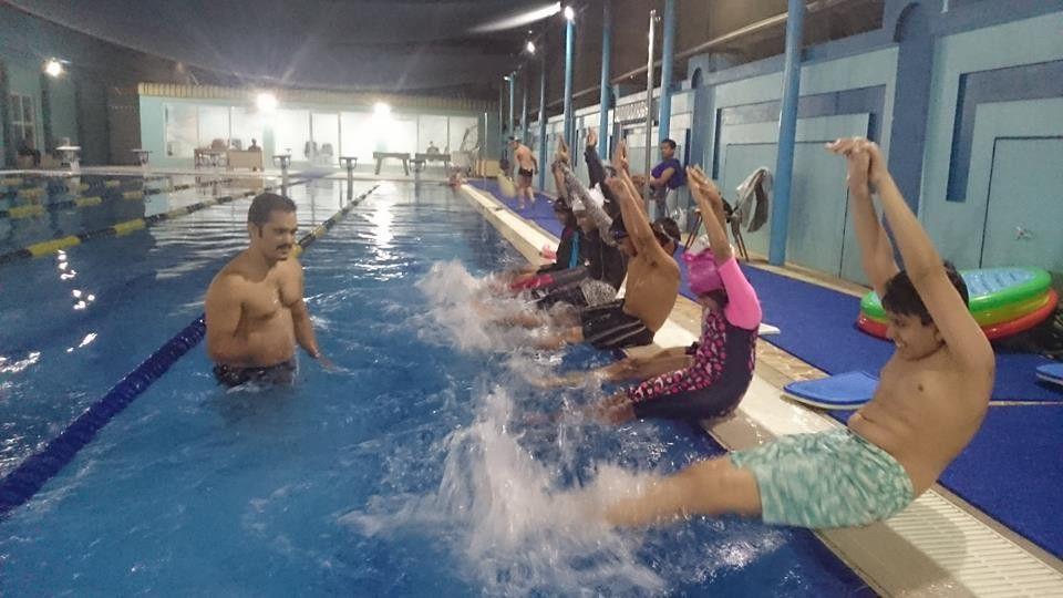 أكايمية كليوباترا لتعليم السباحة 7