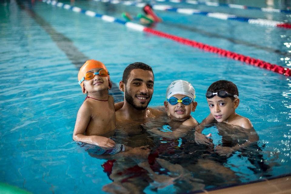 أكايمية كليوباترا لتعليم السباحة 16