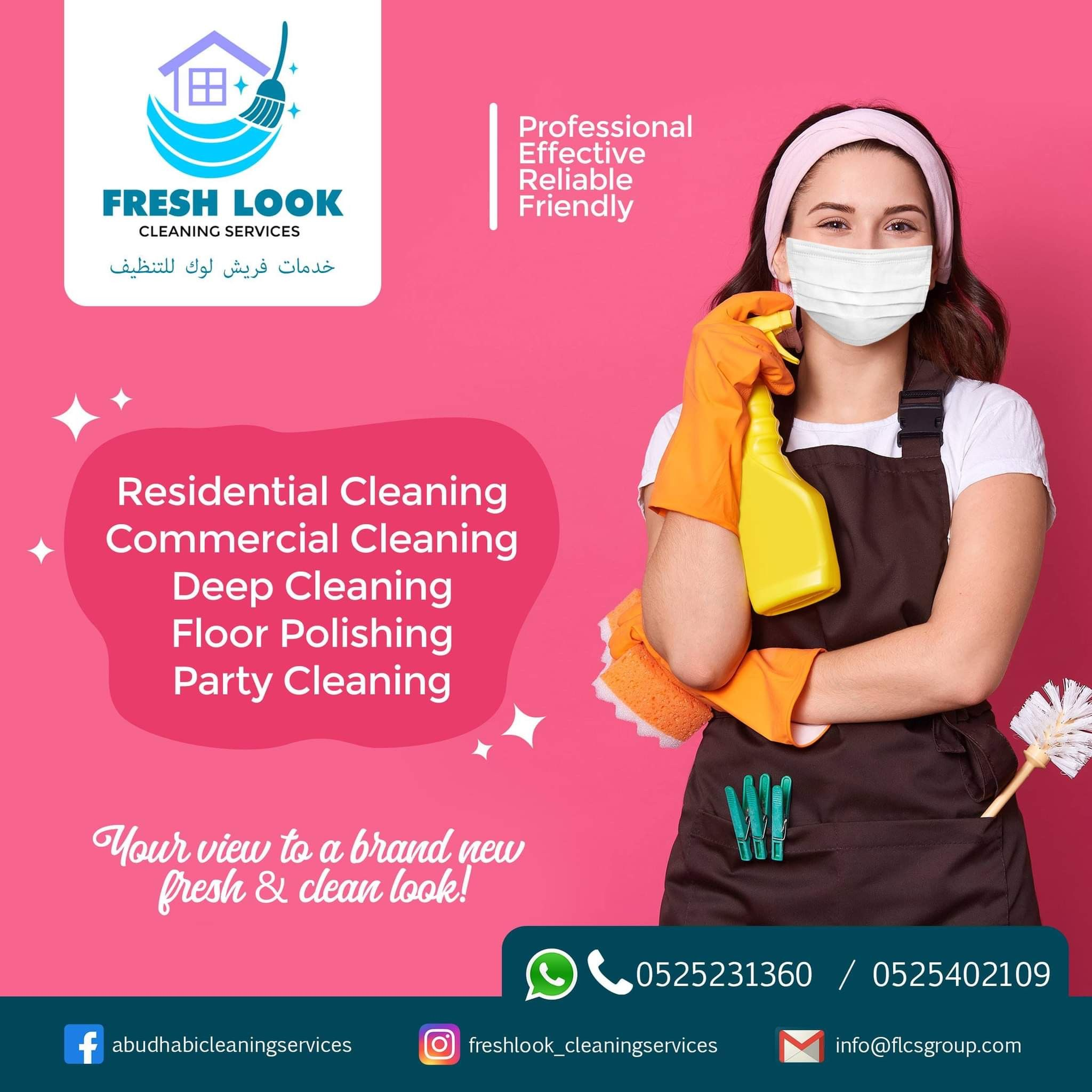 Fresh Look Cleaning Services Group 3
