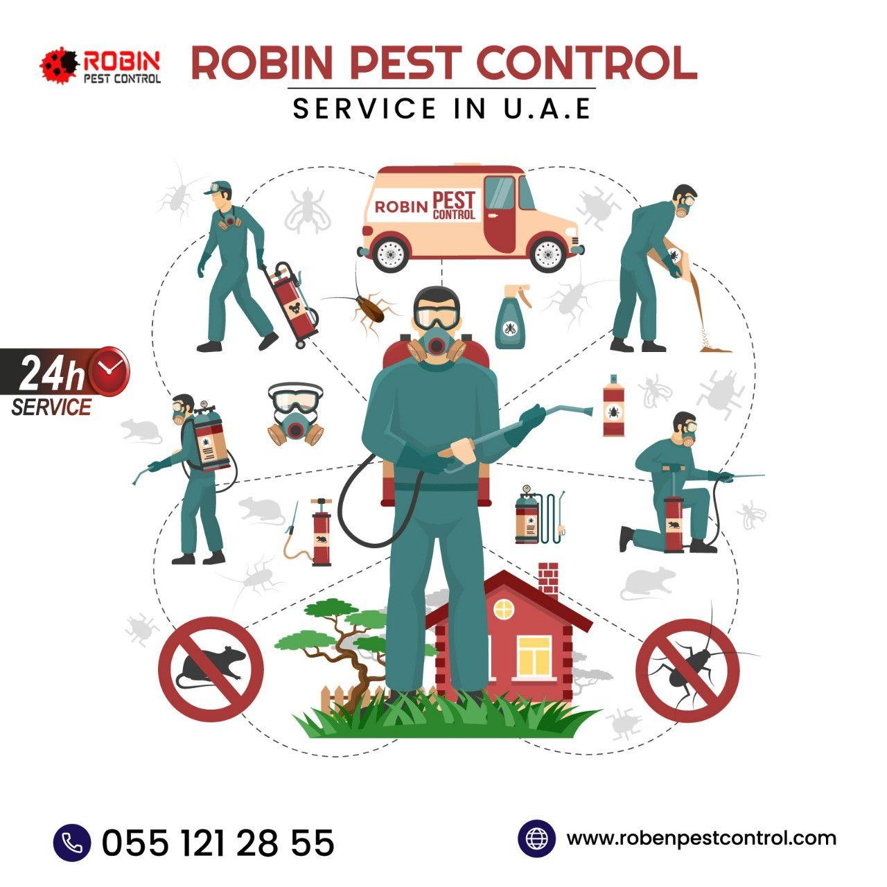 Robin Pest Control 8