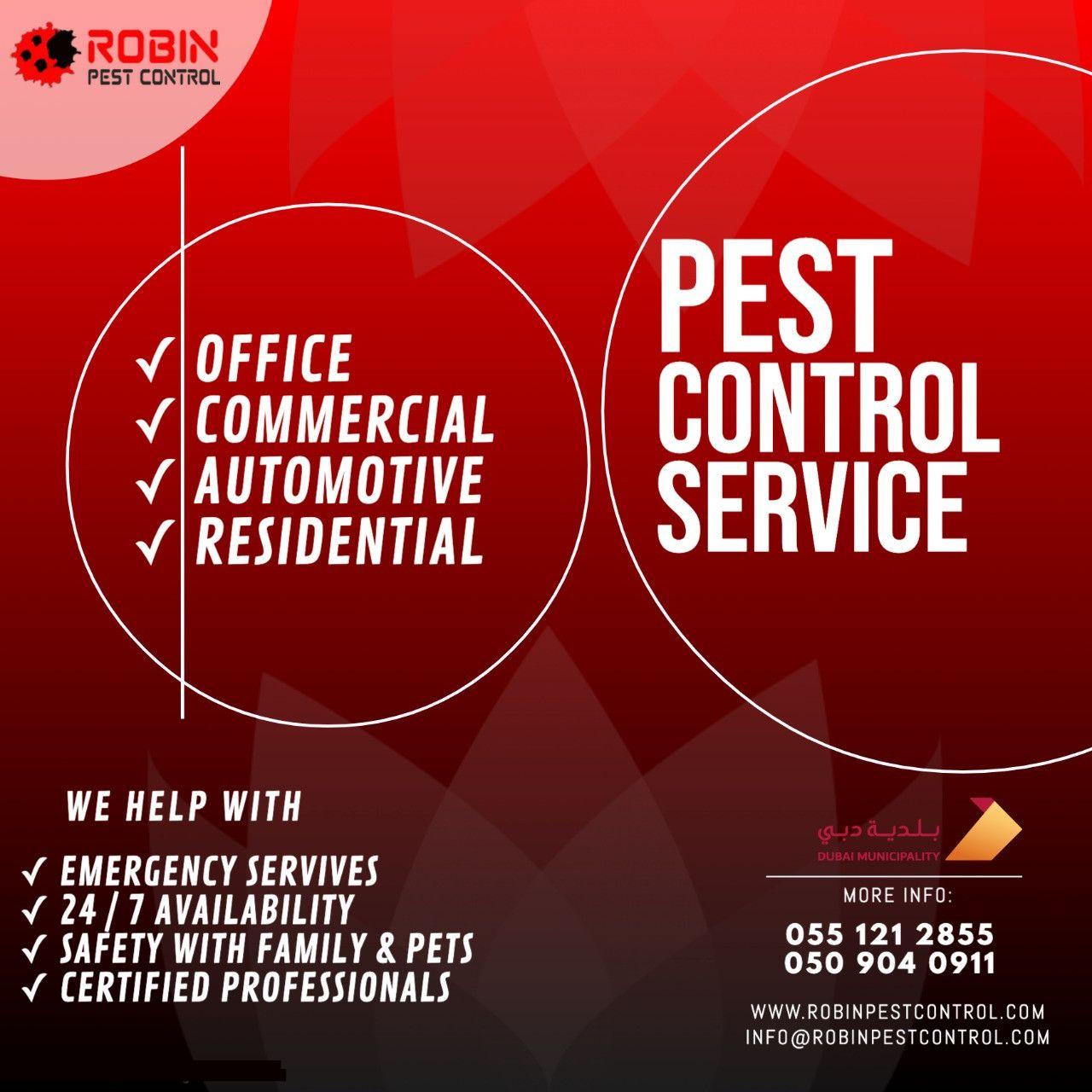 Robin Pest Control 16