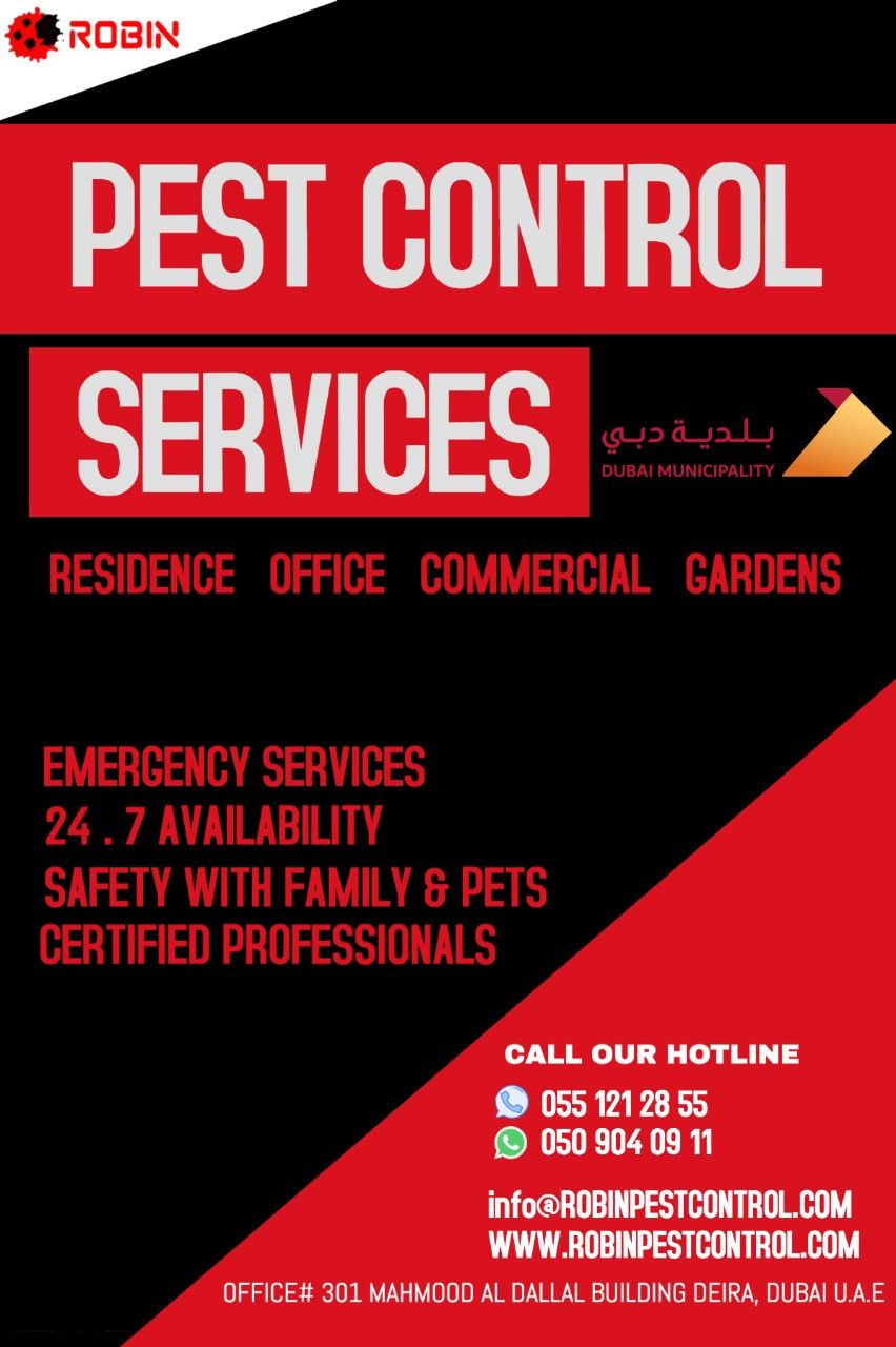 Robin Pest Control 20