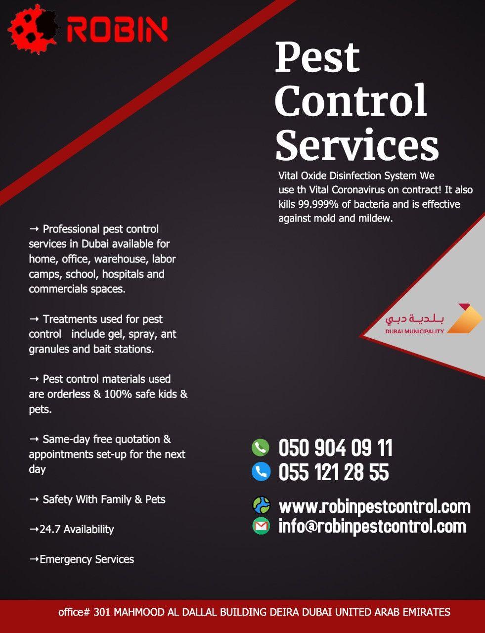 Robin Pest Control 26