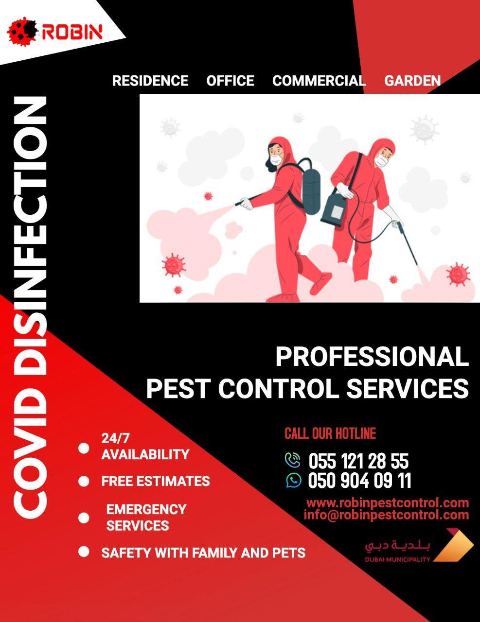 Robin Pest Control 29