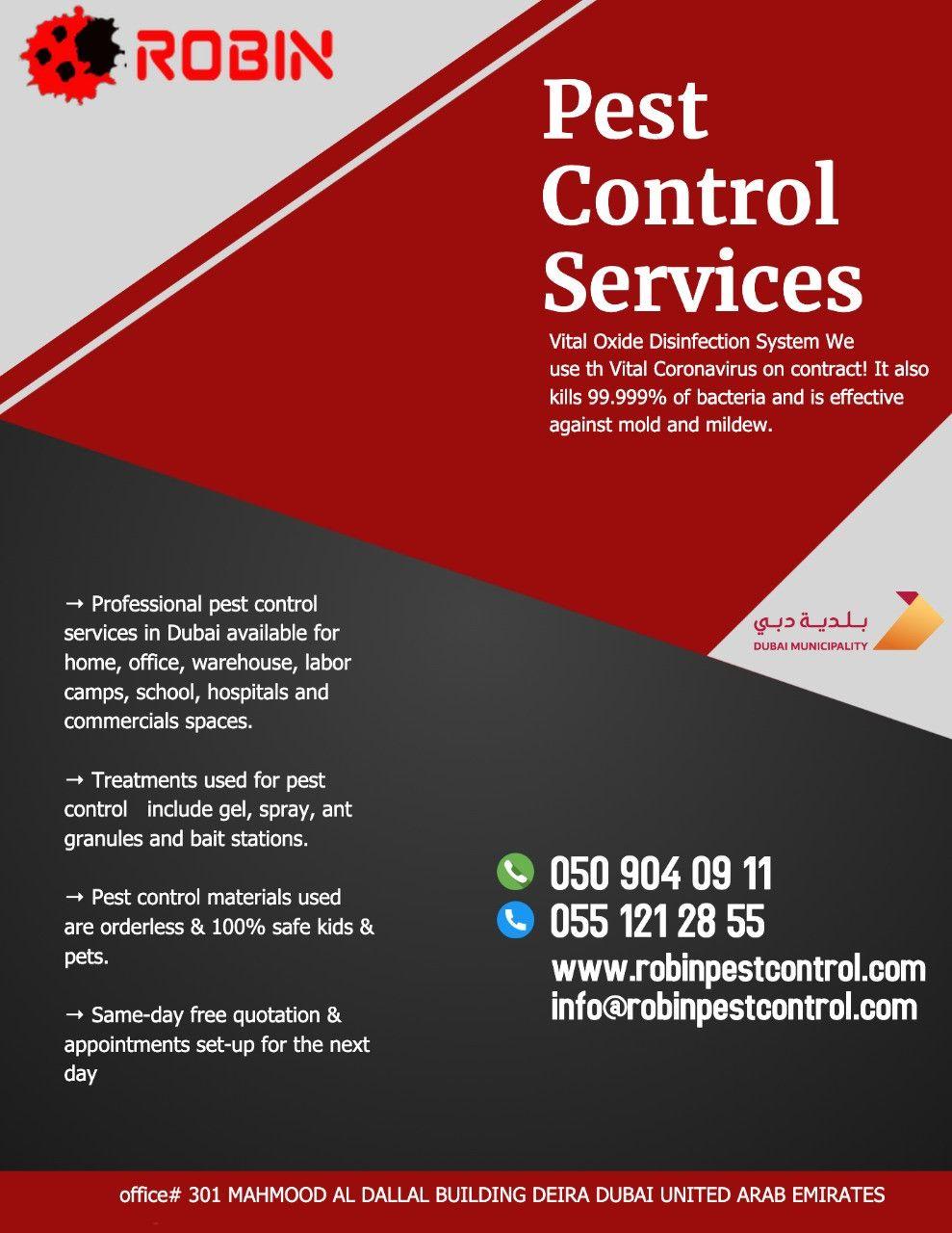 Robin Pest Control 30