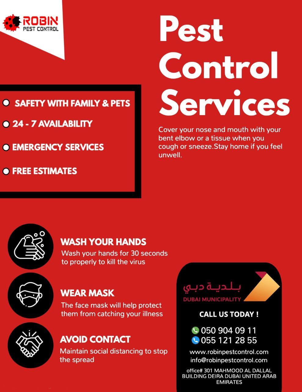 Robin Pest Control 35