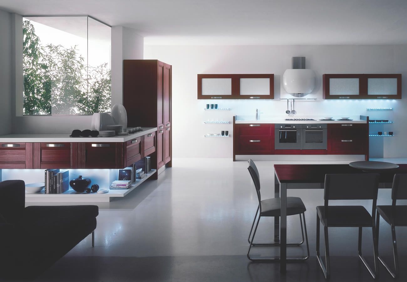 Attractively Designed, Beautiful Look, Customized Kitchens in Abu Dhabi